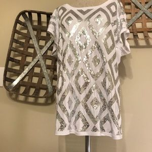 INC international Concepts Sequence Tunic Top
